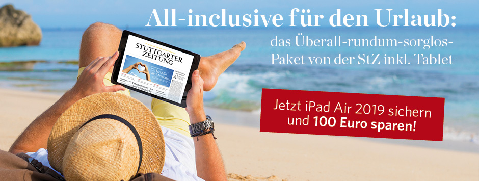StZ Plus Sommerpaket iPad