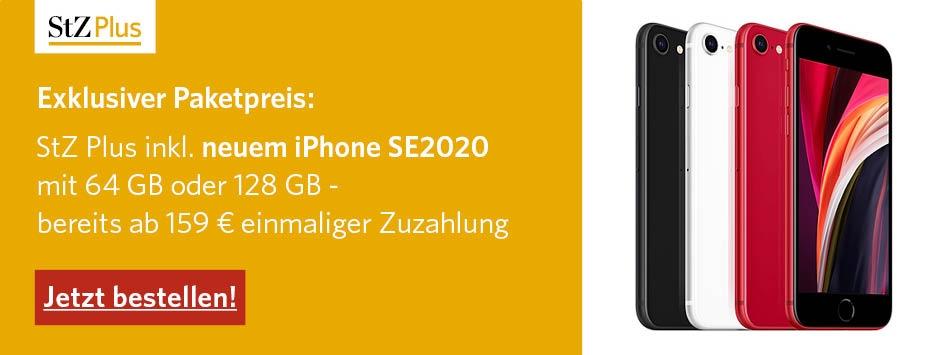 StZ Plus mit iPhone SE2020